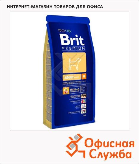 ����� ���� ��� ����� Brit Premium Dog Adult Medium � �������, 3��