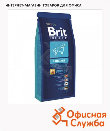 Сухой корм для собак Brit Premium Dog Adult с курицей, 3кг