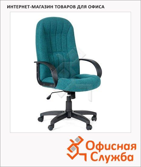 Кресло руководителя Chairman 685 ткань, TW, крестовина пластик, зеленая
