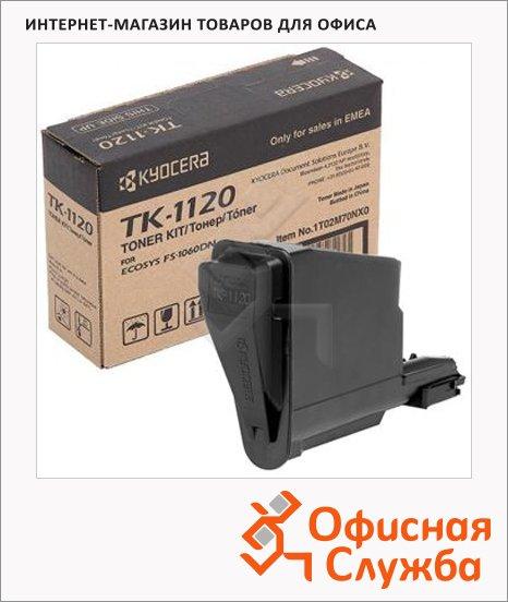 Тонер-картридж Kyocera Mita TK-1120, черный