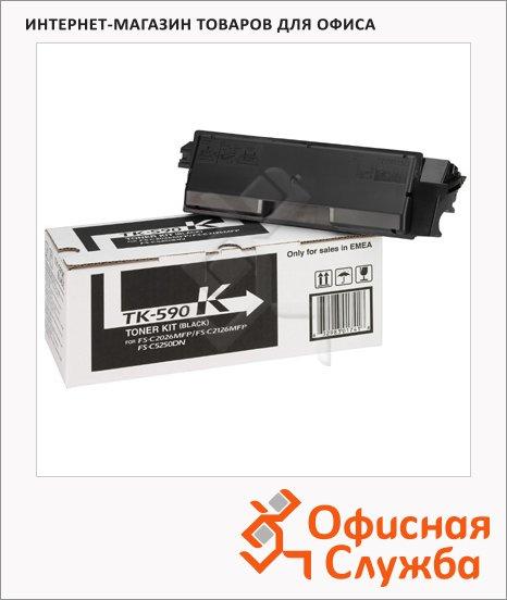 фото: Тонер-картридж Kyocera Mita TK-590K черный