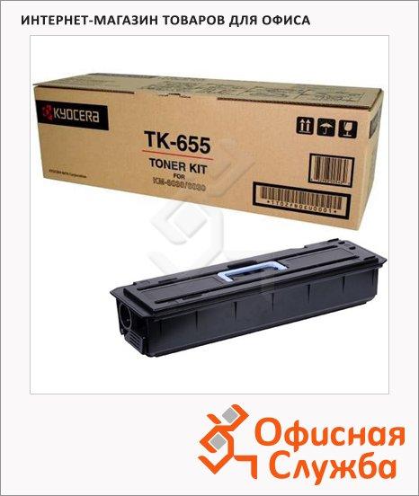 фото: Тонер-картридж Kyocera Mita TK-655 черный