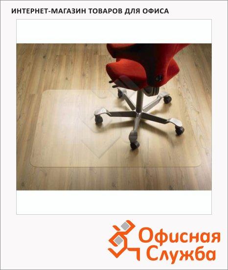 фото: Коврик под кресло для гладкой поверхности прямоугольный 910х1210мм, 2мм, поликарбонат, 1117