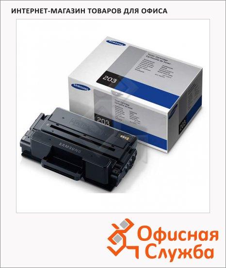 фото: Тонер-картридж Samsung MLT-D203S черный