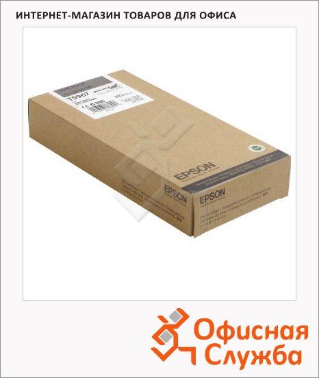 фото: Картридж струйный Epson C13 T596700 серый