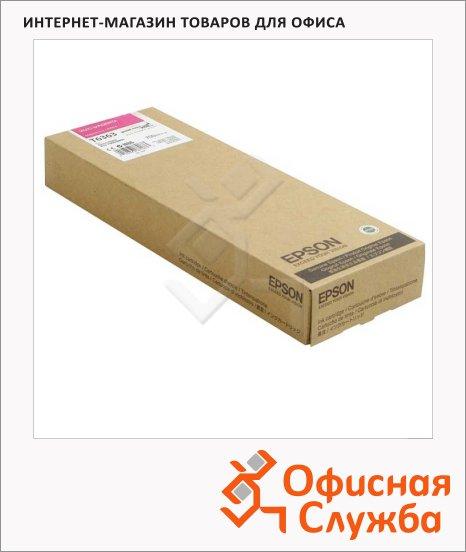 фото: Картридж струйный Epson C13 T636300 пурпурный