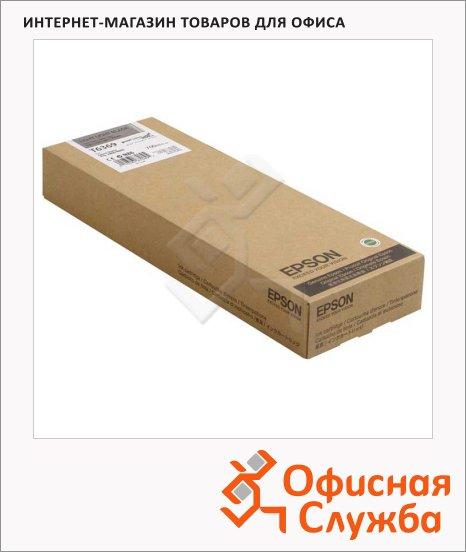 Картридж струйный Epson C13 T636900, светло-серый