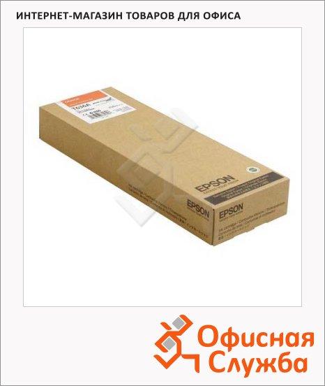 Картридж струйный Epson C13 T636A00, оранжевый
