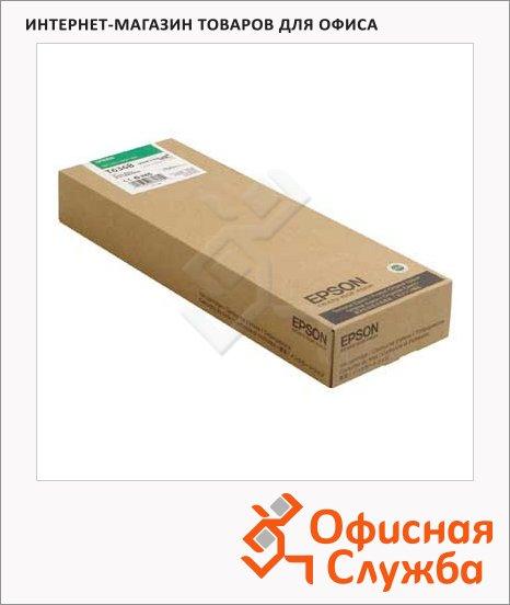 Картридж струйный Epson C13 T636B00, зеленый