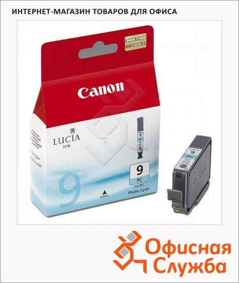 фото: Картридж струйный Canon PGI-9C голубой, (1038B001)
