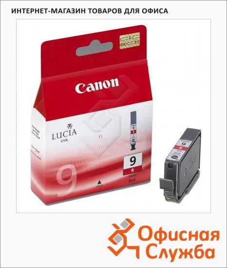 Картридж струйный Canon PGI-9R, красный, (1040B001)