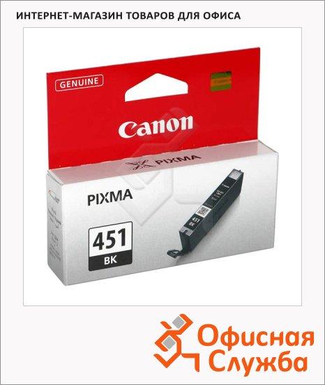фото: Картридж струйный Canon CLI-451BK черный, (6523B001)
