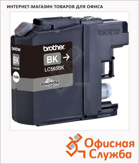 фото: Картридж струйный Brother LC-563BK черный