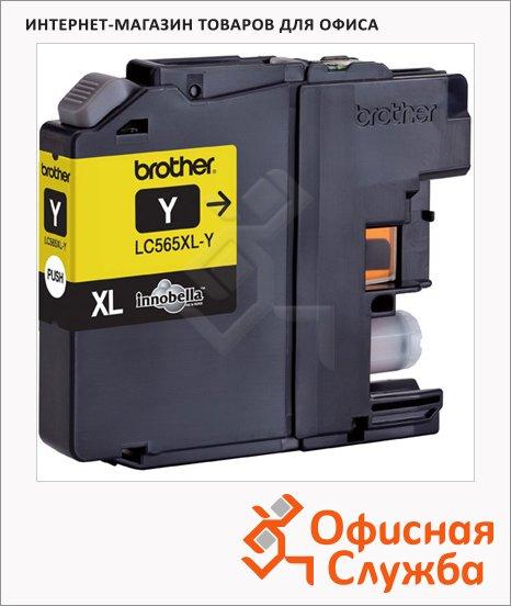 Картридж струйный Brother LC565XLY, желтый повышенной емкости