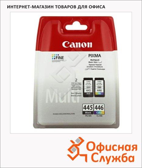 фото: Картридж струйный Canon PG-445/CL-446 3 цвета, (8283B004)