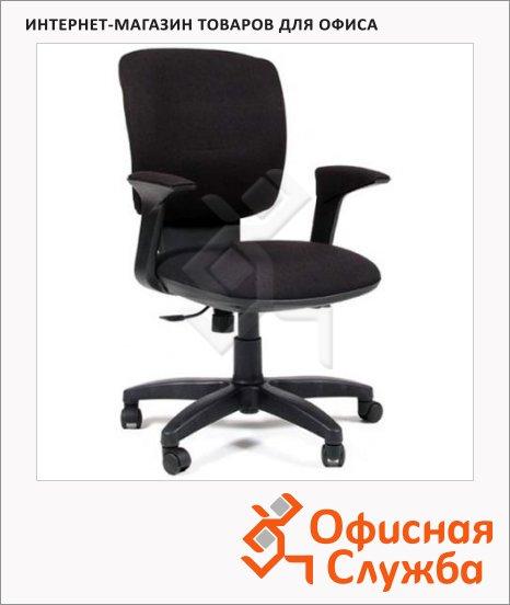 Кресло офисное Chairman 810 ткань, черная, крестовина пластик