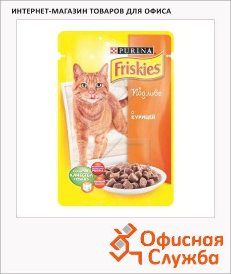 Влажный корм для кошек Friskies в подливе с курицей, 100г