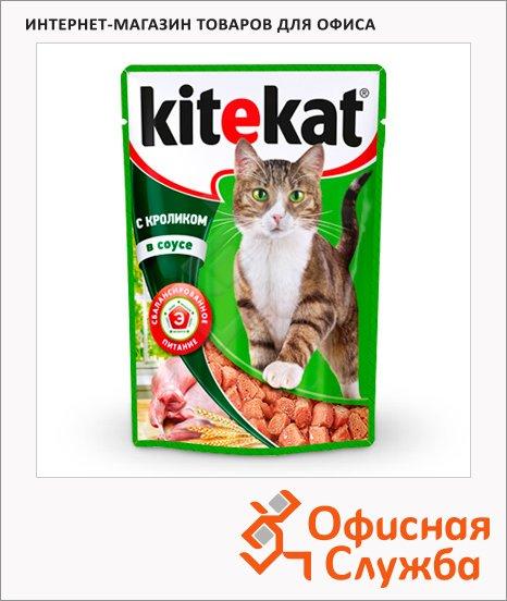 фото: Влажный корм для кошек с кроликом в соусе 100г