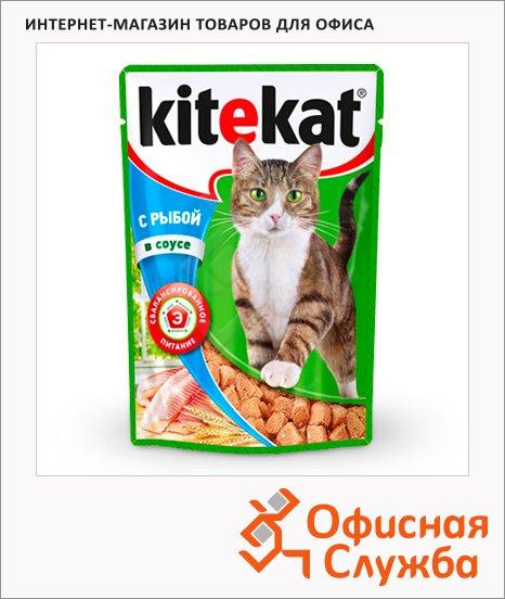 фото: Влажный корм для кошек с рыбой в соусе 100г