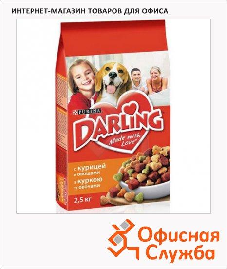 Сухой корм для собак Darling с курицей и овощами, 10кг