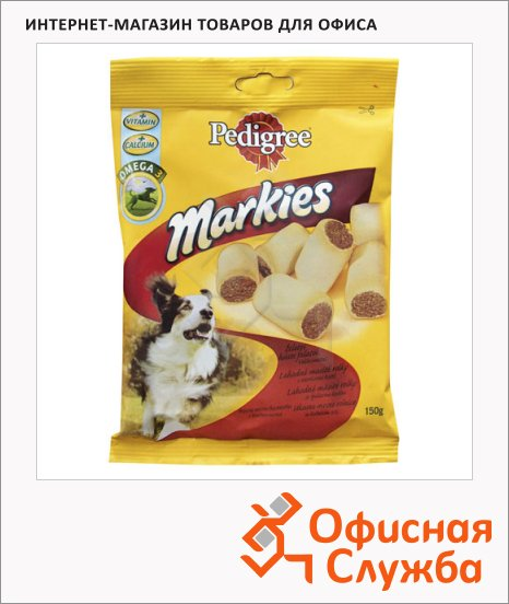 фото: Лакомство для собак Pedigree Markies 150г