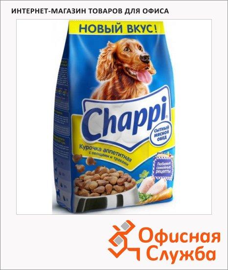 фото: Сухой корм для собак Chappi Сытный Мясной обед курочка аппетитная с овощами и травами 15кг