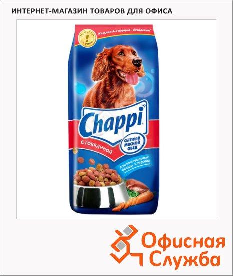 фото: Сухой корм для собак Chappi Сытный Мясной обед с говядиной 15кг