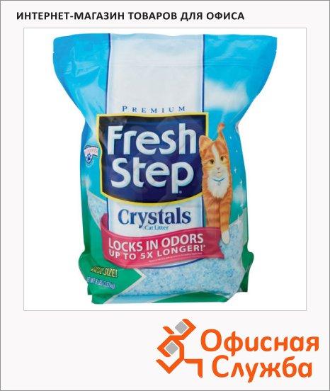 фото: Наполнитель для кошачьего туалета Fresh Step Crystals Силикагель 1.8л