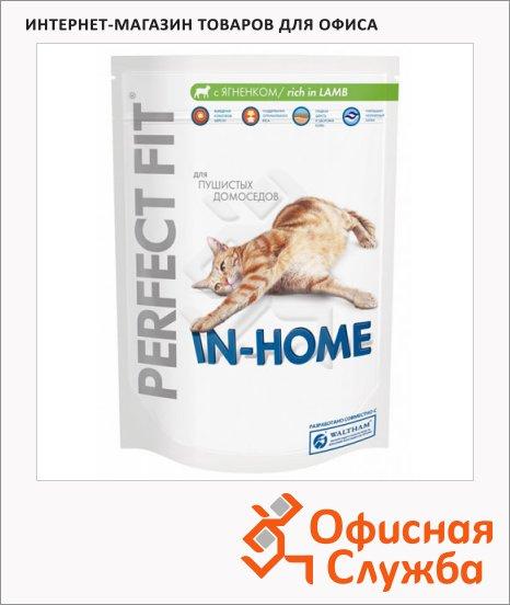 Сухой корм для кошек Perfect Fit In-home с ягненком, 190г
