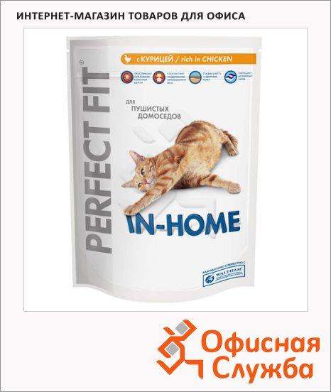 фото: Сухой корм для кошек Perfect Fit In-home с курицей 190г