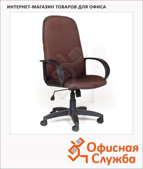 Кресло руководителя Chairman 279 ткань, JP, крестовина пластик, коричневая