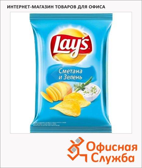 Чипсы Lays сметана/ зелень, 35г