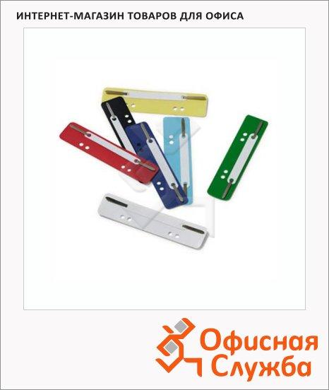 Механизм для скоросшивателя металлический Durable красный, 250 шт/уп, 6901-00