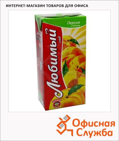 Сок Любимый яблоко-персик, 1.93л
