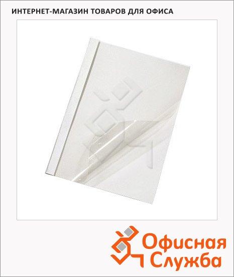 фото: Обложки для термопереплета Office Kit TER03N100 белые А4, 100шт, 8мм