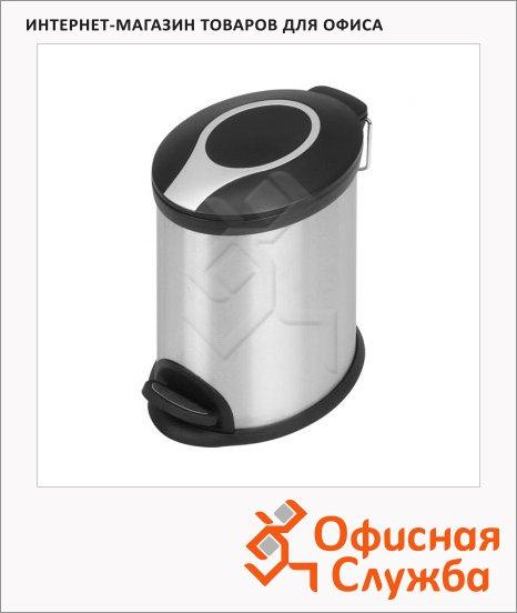 Контейнер для мусора с педалью Bxg Premium 3л, металлик, BXG-TCO-3L