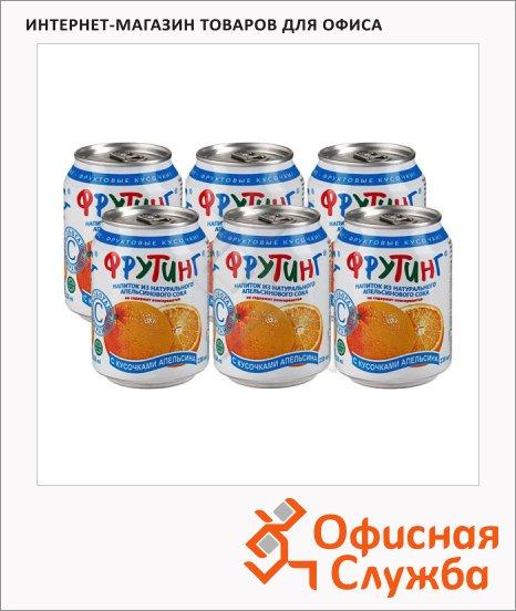 фото: Сокосодержащий напиток Апельсин без газа, 238мл х 6шт, ж/б