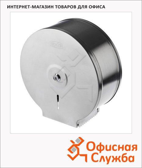 Диспенсер для туалетной бумаги в рулонах Bxg Premium PD-5004A, хром, антивандальный