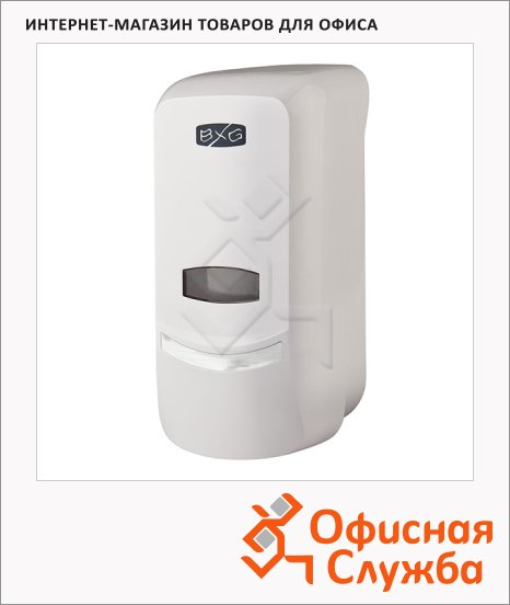 фото: Диспенсер для мыла наливной Bxg SD-1369 белый, 1л