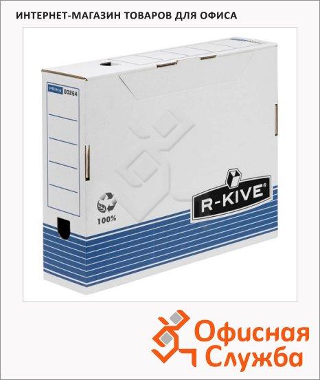 фото: Архивный бокс Fellowes R-Kive Prima белый А4, 80 мм, FS-0026401