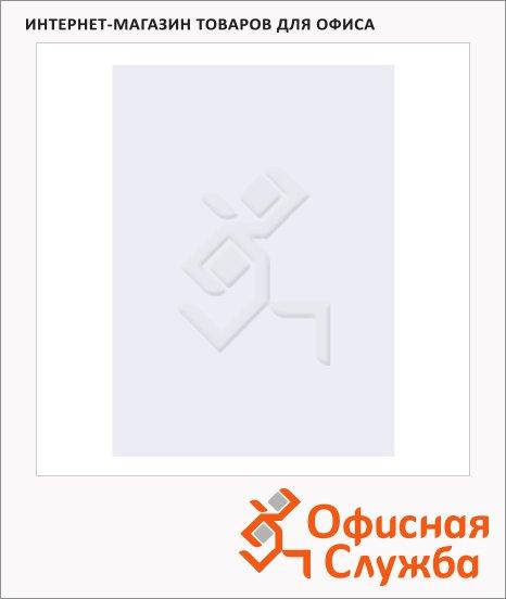 фото: Обложки для переплета картонные Fellowes Chromo белые А4, 250 г/кв.м, 100шт, FS-53780