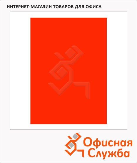 фото: Обложки для переплета картонные Fellowes Chromo красные А4, 250 г/кв.м, 100шт, FS-5378301