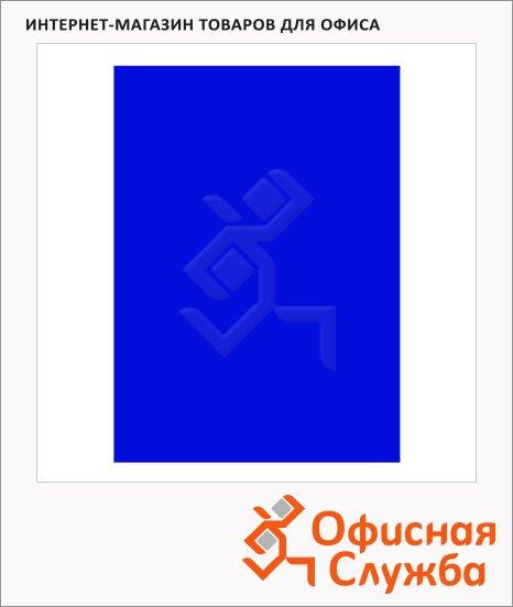 фото: Обложки для переплета картонные Fellowes Chromo синие А4, 250 г/кв.м, 100шт, FS-5378201