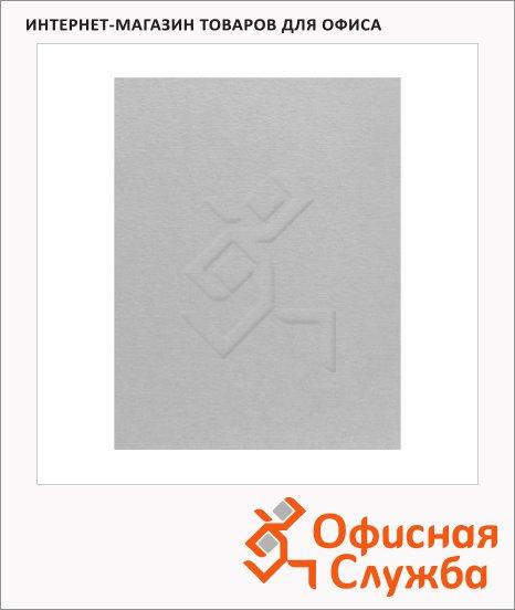 фото: Обложки для переплета картонные Fellowes Linen белые А4, 250 г/кв.м, 100шт, FS-5381301