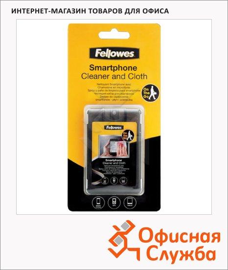 фото: Набор для чистки смартфонов Fellowes спрей 20мл+салфетка FS-9910601