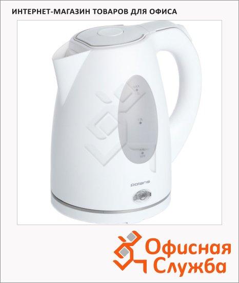 фото: Чайник электрический Polaris PWK1574CL 1.5 л, 2000 Вт, белый