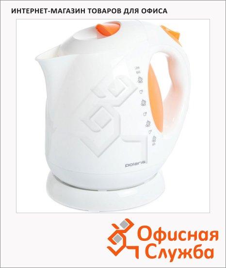 фото: Чайник электрический PWK 2013C бело-оранжевый