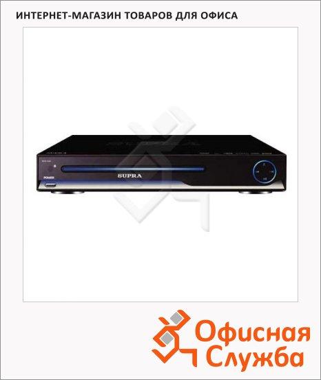 DVD-плеер Supra DVS-102X черный, USB Type A