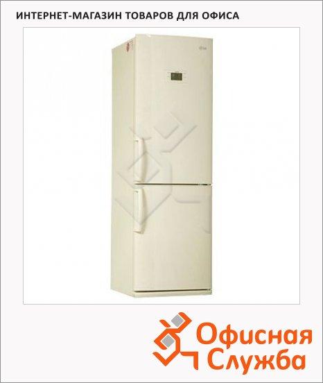 Холодильник двухкамерный Lg GA-B409UEQA 303 л, бежевый, 59.5x65.1x189.6 см
