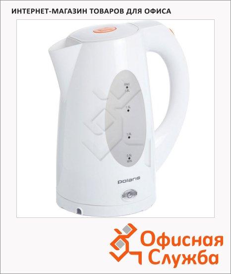 Чайник электрический Polaris PWK1885C белый, 1.8 л, 2200 Вт